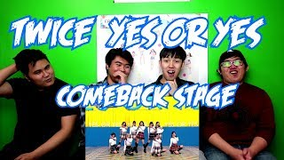 TWICE - YES OR YES COMEBACK STAGE (FUNNY FANBOYS)