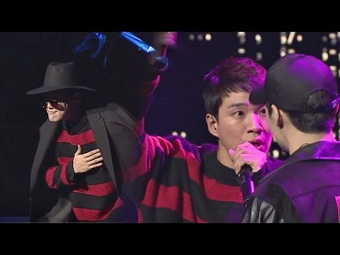 [밀착캠] 김기리, 무대 위의 기리 'Machine Gun'♪ 퓽퓽퓽 힙합의 민족2 6회