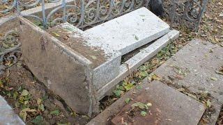 Махачкала: вандалы на русском кладбище