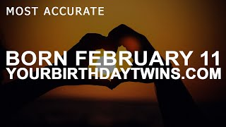 Born On February 11 | Birthday | #aboutyourbirthday | Sample