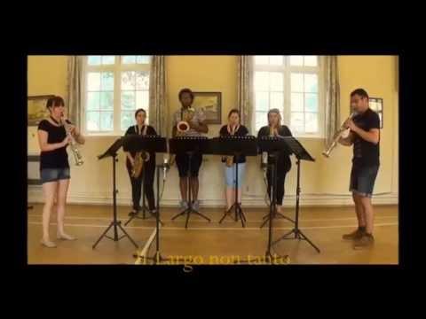 Bach Double - 2 soprano saxophones