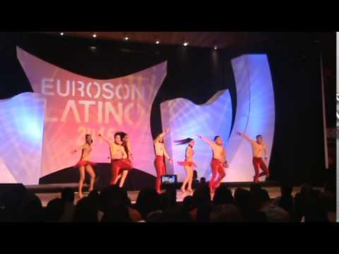 Candela at Euroson Latino 2015