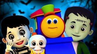Bob xe lửa | Xin chào Halloween của nó | halloween trẻ em | Hello Its Halloween | Kids Tv Vietnam