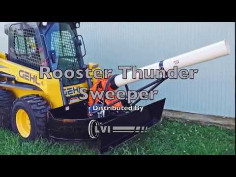Rooster Thunder Sweeper - Distributed by LVI