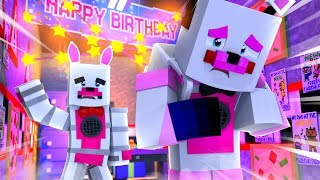 Funtime Freddy Quits and Leaves Sister Location! Minecraft FNAF Roleplay
