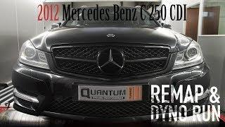 Mercedes Benz C 250 cdi Vergleich RaceChip vs Software Tuning 240 PS