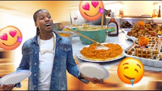 I Surprised My Family & Friends With A Personal Chef & I Got The Craziest Mechanical Shoes!