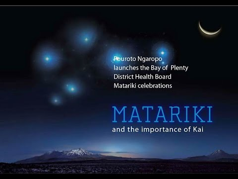 BOPDHB - Matariki & the importance of Kai
