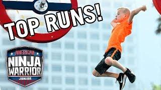 American Ninja Warrior Junior: 10 More Amazing Runs from Season 1!   Universal Kids