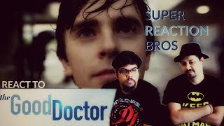 SUPER REACTION BROS REACT & REVIEW ABC The Good Doctor Official Trailer!!!!