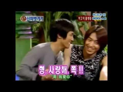 [shinhwa kisses] 신화 멤버들의 므흣한 뽀뽀영상 (11집활동+신방포함)