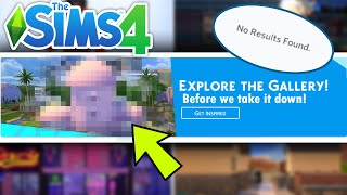How to RUIN the Sims 4 Gallery...