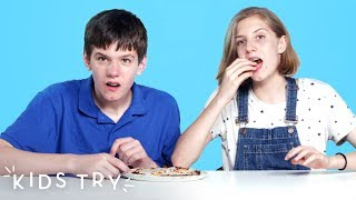 Kids Try Food with Secret Veggies | Kids Try | HiHo Kids
