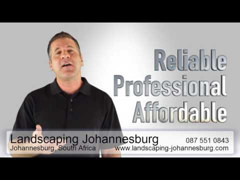 Affordable landscaping and gardening services in Johannesburg