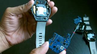 LG G Watch R Teardown and Repair - Disassemble