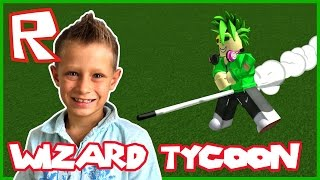 Wizard Tycoon / I am a Wizard in Roblox