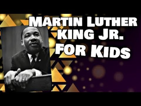 Martin Luther King Jr for Kids   Biography Video