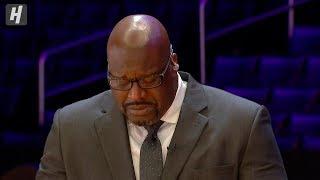 Shaq Breaks Down In Tears Talking about Kobe Bryant