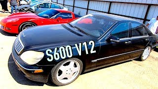 Buying a $1680 IAA 2001 Mercedes S600 - Does it run?? PT1