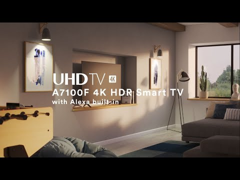 video Hisense 43-inch 4K HDR LED Android TV (43A7100F)