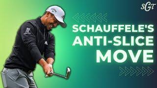 The ANTI-SLICE Move from Xander Schauffele