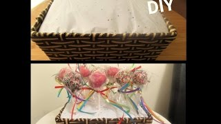 HOW TO MAKE CAKE POP STAND DIY UNDER $5