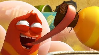 LARVA - STOP THE FART | Cartoon Movie | Cartoons For Children | Larva Cartoon | LARVA Official