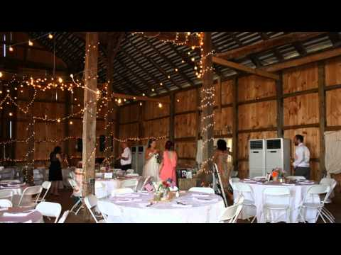 A Rustic Barn Wedding with Modern Cooling