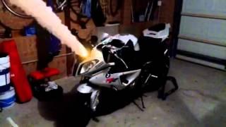 Exploding BMW S 1000rr