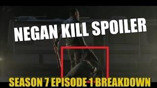 The Walking Dead Season 7 Episode 1 Spoilers Negan Kill Spoiler What We Know So Far