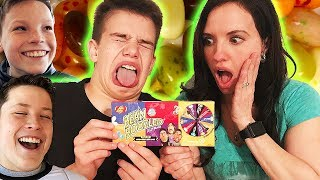 Ninja Kids Try Not to Laugh Challenge Bean Boozled Style - YouTube