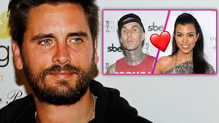 Scott Disick Reacts To Kourtney Kardashian & Travis Barker Dating