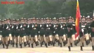 Diễu binh kỷ niệm 1000 năm Thăng Long Hà Nội   Vietnam military parade 2010 (rehearsals)