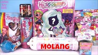 Hairdorables Series 2 MOLANG Push Peel POP JOJO SIWA Sequin Shopkins TOY Surprises Opening Fun