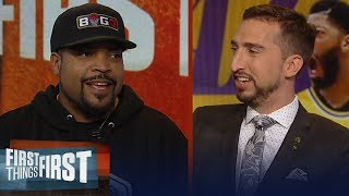Ice Cube: Anthony Davis rejuvenated Lakers & expectations joining LeBron | NBA | FIRST THINGS FIRST