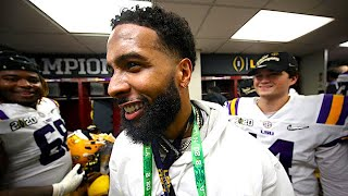 Dan Patrick Reacts to Odell Beckham Jr. Handing Out Money to LSU Players | 1/16/20