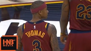Isaiah Thomas Gets Technical Foul / Cavaliers vs Blazers