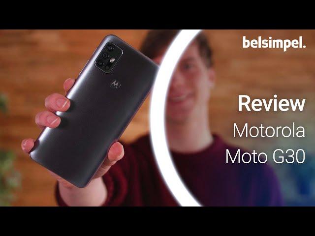 Belsimpel-productvideo voor de Motorola Moto G30