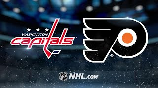 Simmonds scores twice in Flyers' 6-3 win against Caps