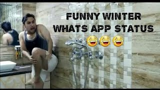 FUNNY WINTER STATUS || TRY NOT TO LAUGH WINTER STATUS VIDEO || WHATSAPP STATUS || NEW WHATSAPP