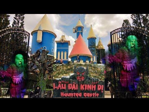 Khu Du Lịch Đầm Sen - 18 Tầng Địa Ngục ở Lâu Đài Kinh Dị / Quang Thiện Vlogs