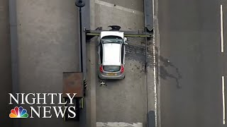 Car Crashes Near Parliament In London 'Terrorist Incident' | NBC Nightly News