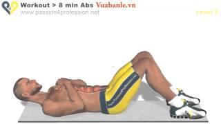 Bài tập cơ bụng 6 múi | tap co bung 6 mui