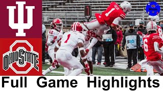 #9 Indiana vs #3 Ohio State Highlights | College Football Week 12 | 2020 College Football Highlights