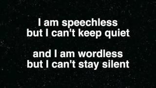 Wordless (lyrics)  - Lauren Daigle