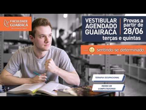 Vestibular Agendado 2016 – Faculdade Guairacá