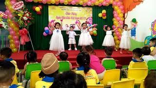 Trường Mầm Non Hoa Mặt Trời - Tiết mục múa lớp Lá