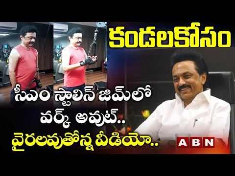 Watch: Tamil Nadu CM MK Stalin Gym workout video