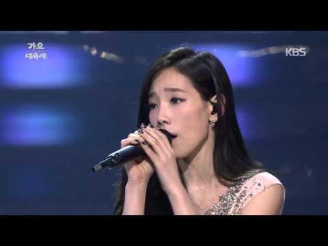 [HIT] KBS 가요대축제-태연X플라이 투 더 스카이 환희(Taeyeon X HwanHee) - 별처럼.20141226
