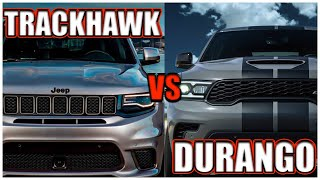 Jeep TRACKHAWK VS Durango HELLCAT!!!|KNOCKOUT 360